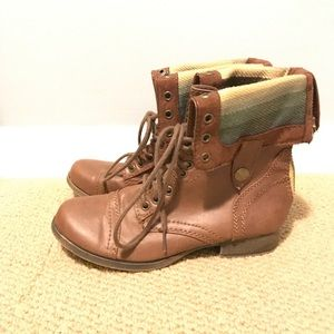 SM New York Combat Boots